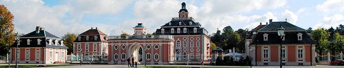 Barockschloss Bruchsal (Teilansicht)